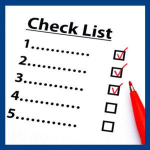 Как составить чек-лист?
